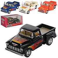 Машинка KT 5330 WF (24шт) металл,инер-я,1:32, 12,5см,откр.двери, рез.колеса,4цвета,в кор-ке,16-7-8см