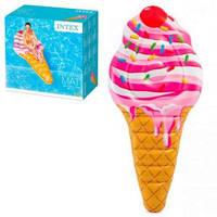 Матрас 58762 (6шт) Мороженое, 224-107см, 114см, ремкомплект, в кор-ке,