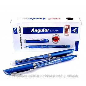 Ручка шариковая FLAIR Angular для левши синяя (26112)