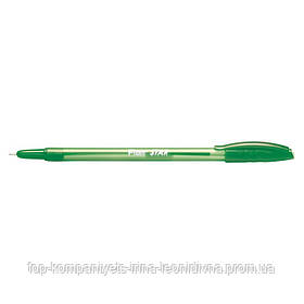 Ручка кулькова FLAIR Star зелена (1188)