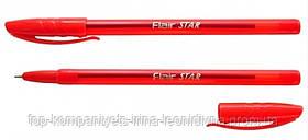 Ручка шариковая FLAIR Star красная (1188)
