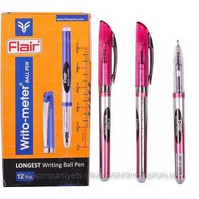 Ручка шариковая FLAIR Writo-meter ball  10км красная (56675)