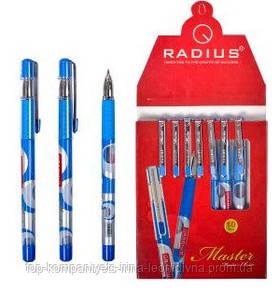 """Ручка шариковая RADIUS """"Master"""", синяя (10 шт/уп)"""