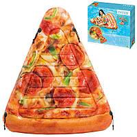 Матрас 58752 (6шт) Кусок пиццы, 175-145см, ремкомплект, в кор-ке,