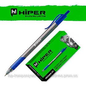 Ручка масляная автоматическая Hiper ACCORD GRIP RT трехгранная синяя (HА-140RT)