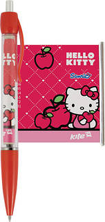 "Ручка-шпаргалка, автоматична KITE ""Hello Kitty"" (28шт/уп)"