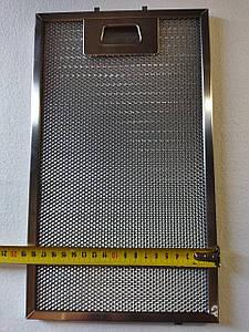 Алюминиевый жировой фильтр для вытяжки 320x190 mm