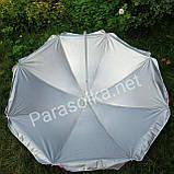 Пляжний зонт червоний 2 метри, фото 3