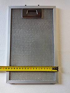 Алюминиевый жировой фильтр для вытяжки 300x190 mm