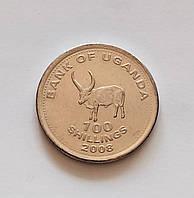 100 шилінгів Уганда 2008 р., фото 1