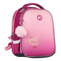 "Рюкзак YES H-100 ""Girl Power"", рожевий"