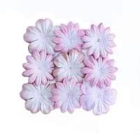 """Набор бумажных цветов """"розовый"""" 10 шт., фото 1"""