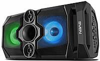 Акустическая система SVEN PS-650 Black (50Вт, TWS, bluetooth, подсветка,FM )