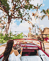 Картина по номерам рисование Brushme BS24882 Улицами Кубы