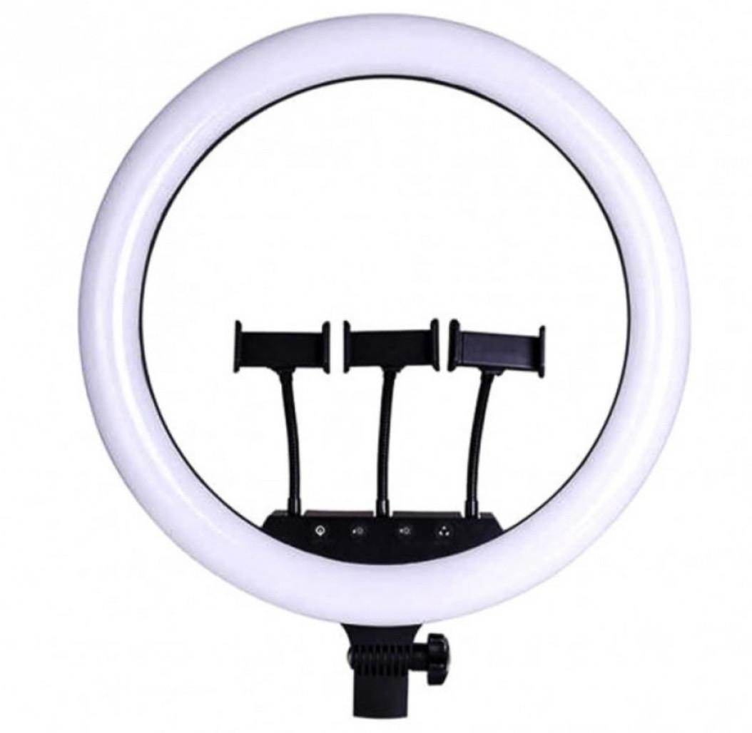 LED лампа Ring Light для селфи кольцевая диаметр 36см