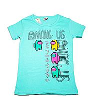 Футболка  для девочки Among US (от 5 до 8 лет) - арт.1447372536