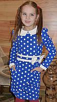 Детское платье на девочку с длинным рукавом