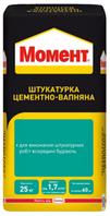 Moment ШТУКАТУРКА ЦЕМЕНТНО-ВАПНЯНА 25 кг