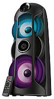 Акустическая система SVEN PS-720 Black (80Вт, TWS, bluetooth, подсветка, караоке,FM )