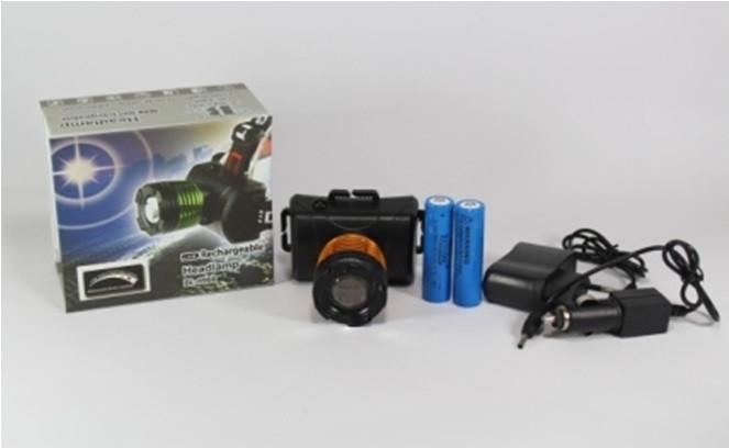 Яркий налобный фонарик Bailong BL-6968-T6 50000W светодиодный