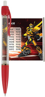 "Ручка-шпаргалка, автоматическая KITE ""Transformers"" (28шт/уп)"