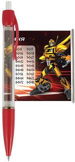 "Ручка-шпаргалка, автоматична KITE ""Transformers"" (28шт/уп)"