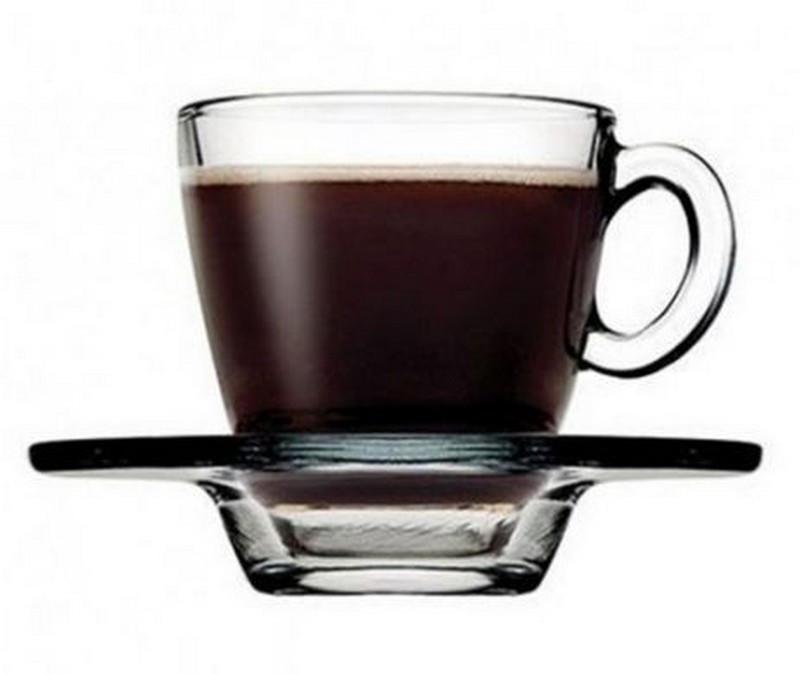Чашка для кофе с блюдцем, 72 мл (h=59мм,d=58мм)