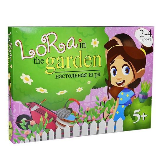 Настільна гра Lora in the garden, в коробці Рос Strateg