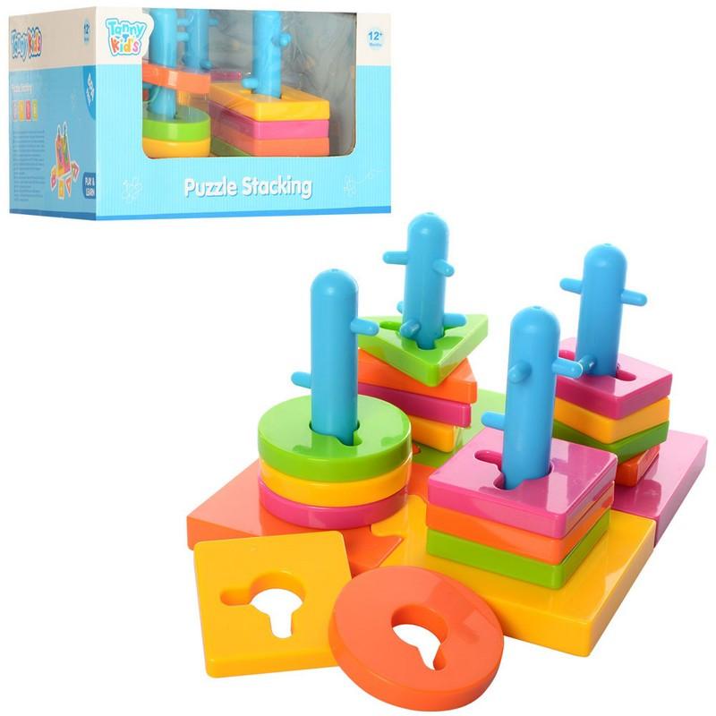 Гра Пірамідка-ключ, основа-пазли, кор.