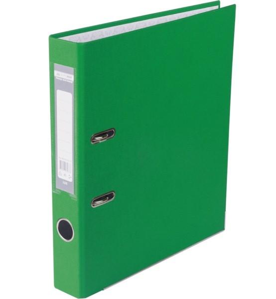 Оптовий Набір: Папка реєстратор LUX одностороння JOBMAX A4, 50 мм, зелена, 10 шт. + Календарь