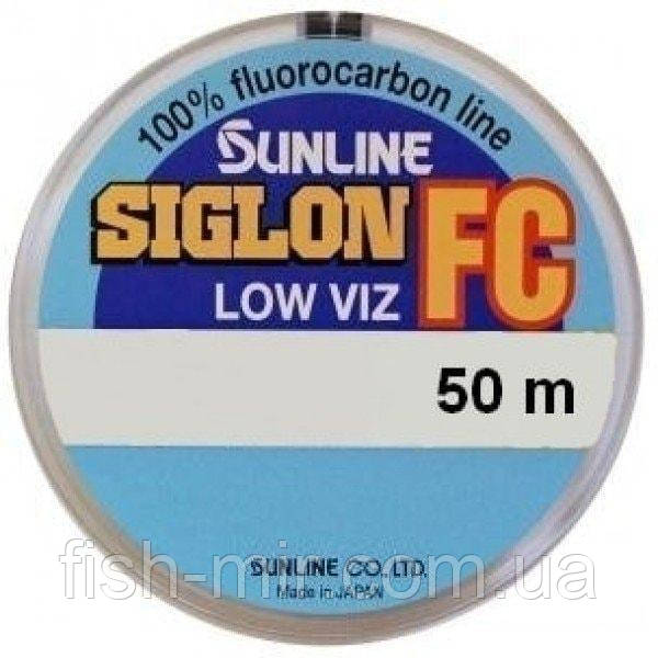 SIG-FC 50м 0.60мм 19,9кг поводковый флюорокарбон Sunline