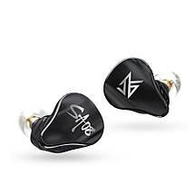 Бездротові Bluetooth-навушники KZ SA08 з арматурними випромінювачами (Чорний), фото 2