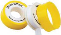 Фум лента GROSS для воды (белая) 19мм.х0,25мм.х15М.