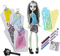 Кукла Фрэнки Штейн из серии Дизайнер (Monster High Designer Booo-tique Frankie Stein Doll & Fashions)