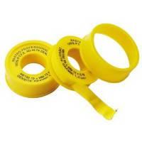 Фум лента GROSS для газа (желтая) 19мм.х0,25мм.х15М.
