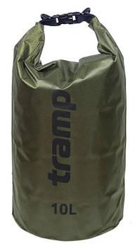 Гермомішок PVC Diamond Rip-Stop олив. 10 л Tramp (TRA-111-olive)