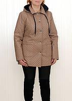 Осеняя оригинальная стеганая женская куртка