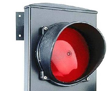 Світлофорна лампа червона