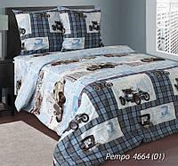 Постельное белье Ретро, белорусская бязь 100%хлопок - двуспальный комплект