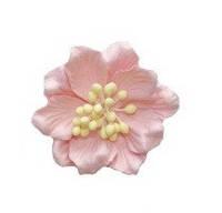 Цветок магнолии розовый 5cm 1