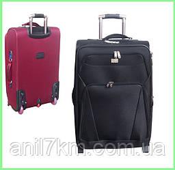 Малый  чемодан на силиконовых колёсах