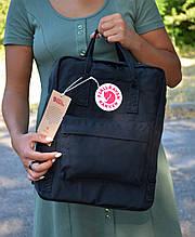 Fjallraven Kanken Classic Городской Рюкзак черного цвета на 16 литров
