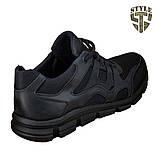 Кросівки літні 20-18 колір чорний, фото 4