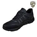 Кросівки літні 20-18 колір чорний, фото 2