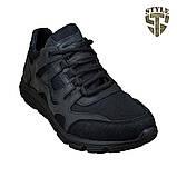 Кросівки літні 20-18 колір чорний, фото 5