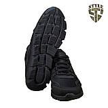 Кросівки літні 20-18 колір чорний, фото 3