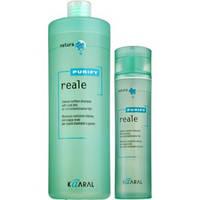 Kaaral Purify Reale Shampoo Безсульфатный восстанавливающий шампунь для поврежденных волос 1000 мл.