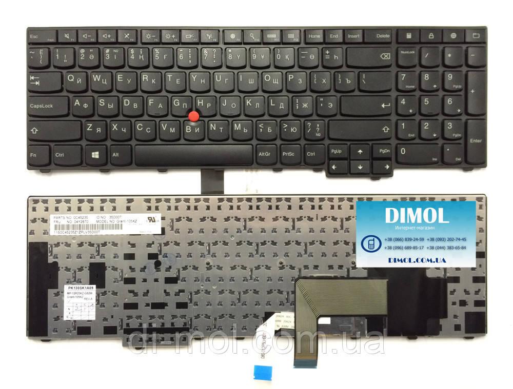 Оригинальная клавиатура для ноутбука Lenovo ThinkPad T540 rus, black