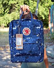 Fjallraven Kanken Classic синий Городской Рюкзак на 16 литров