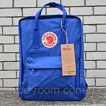 Fjallraven Kanken Classic Городской Рюкзак синего цвета на 16 литров